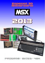 Calendario 2013. Especial 30 Aniversario del MSX