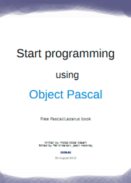 Start programming using Object Pascal