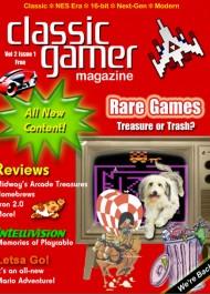 Classic Gamer Magazine #1