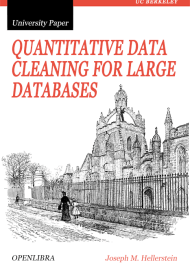 Quantitative Data Cleaning for Large Databases