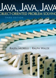Java, Java, Java Object-Oriented Problem Solving