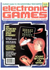 Electronic Games #1