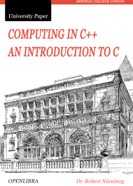 Computing in C ++.  An introduction to C
