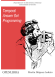 Temporal Answer Set Programming